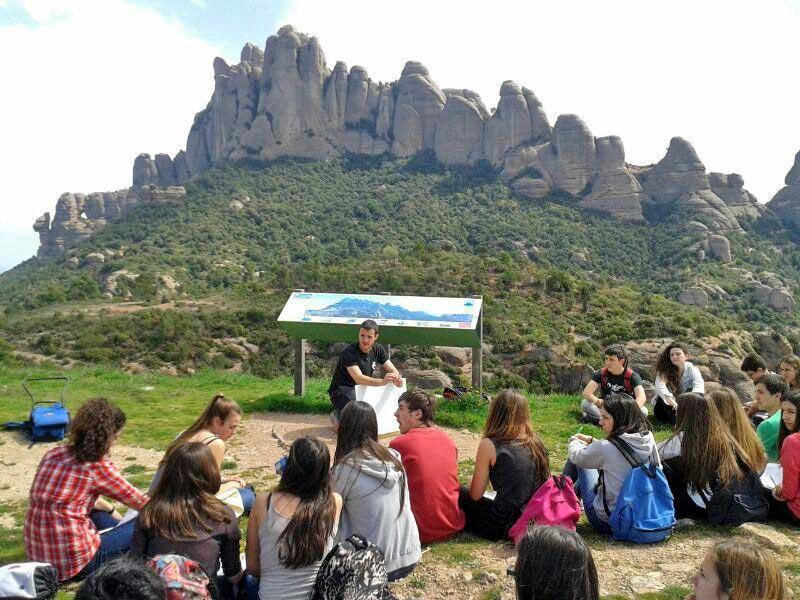 Batxillerat - Sortida Geològica al Massís de Montserrat