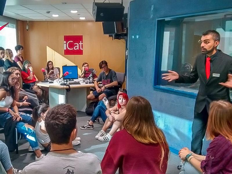 Sortida a Catalunya Ràdio