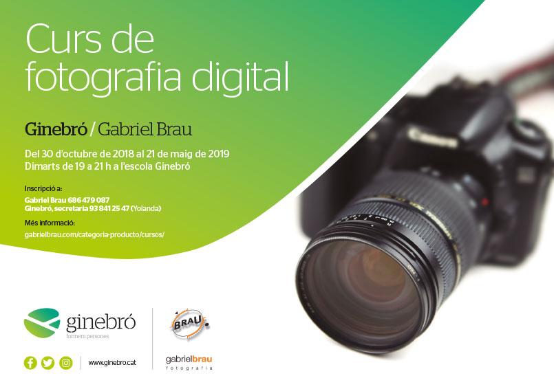 Nova edició del Curs de Fotografia Digital